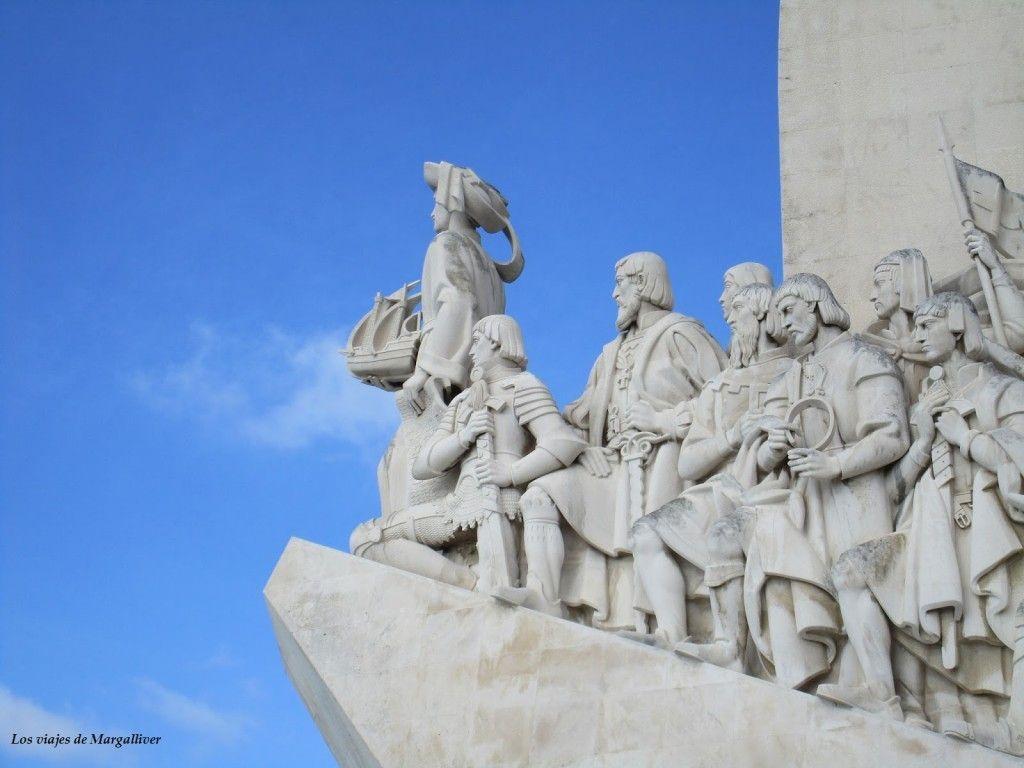 Monumento a los descubrimientos en Lisboa - Los viajes de Margalliver